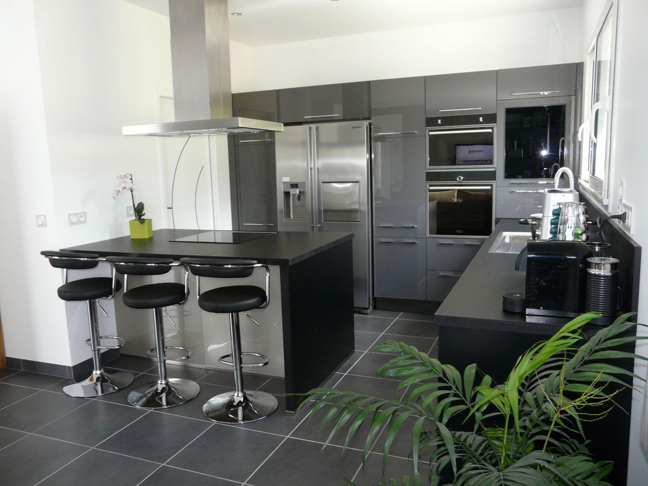 cuisine 11m2 avec ilot central | hotelducentre wimereux