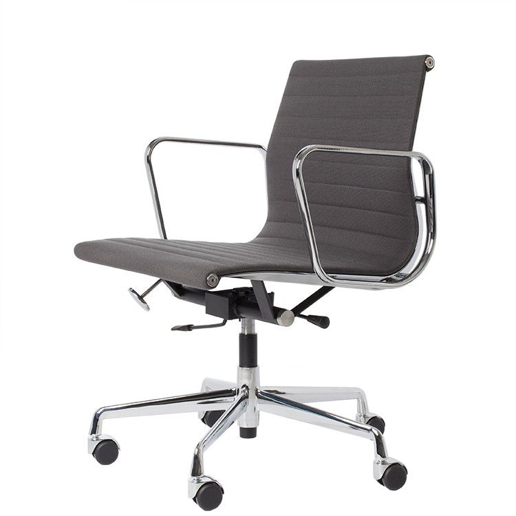 office chair EA117 Hopsack orange in 2020 Home office