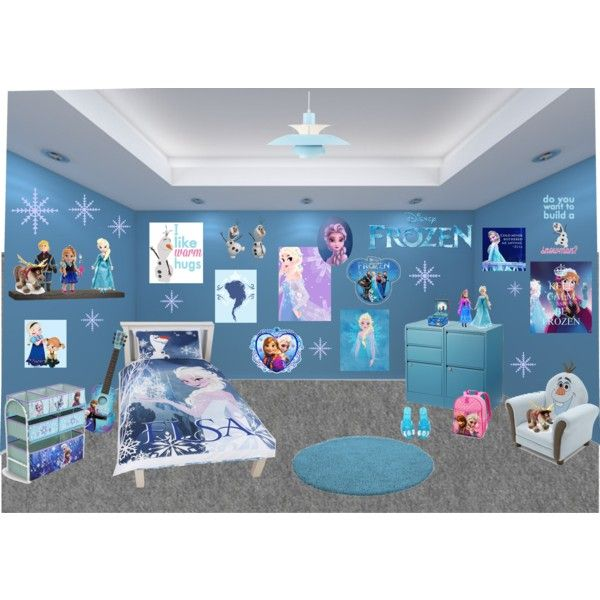 Frozen Bedroom * (Do you wanna build a snowman?) XD | Frozen room ...