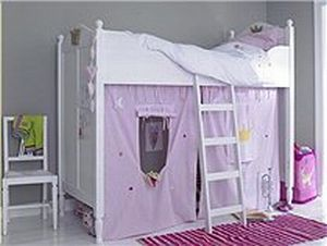 Front View Childrens Furniture Furniture Princess Loft Bed
