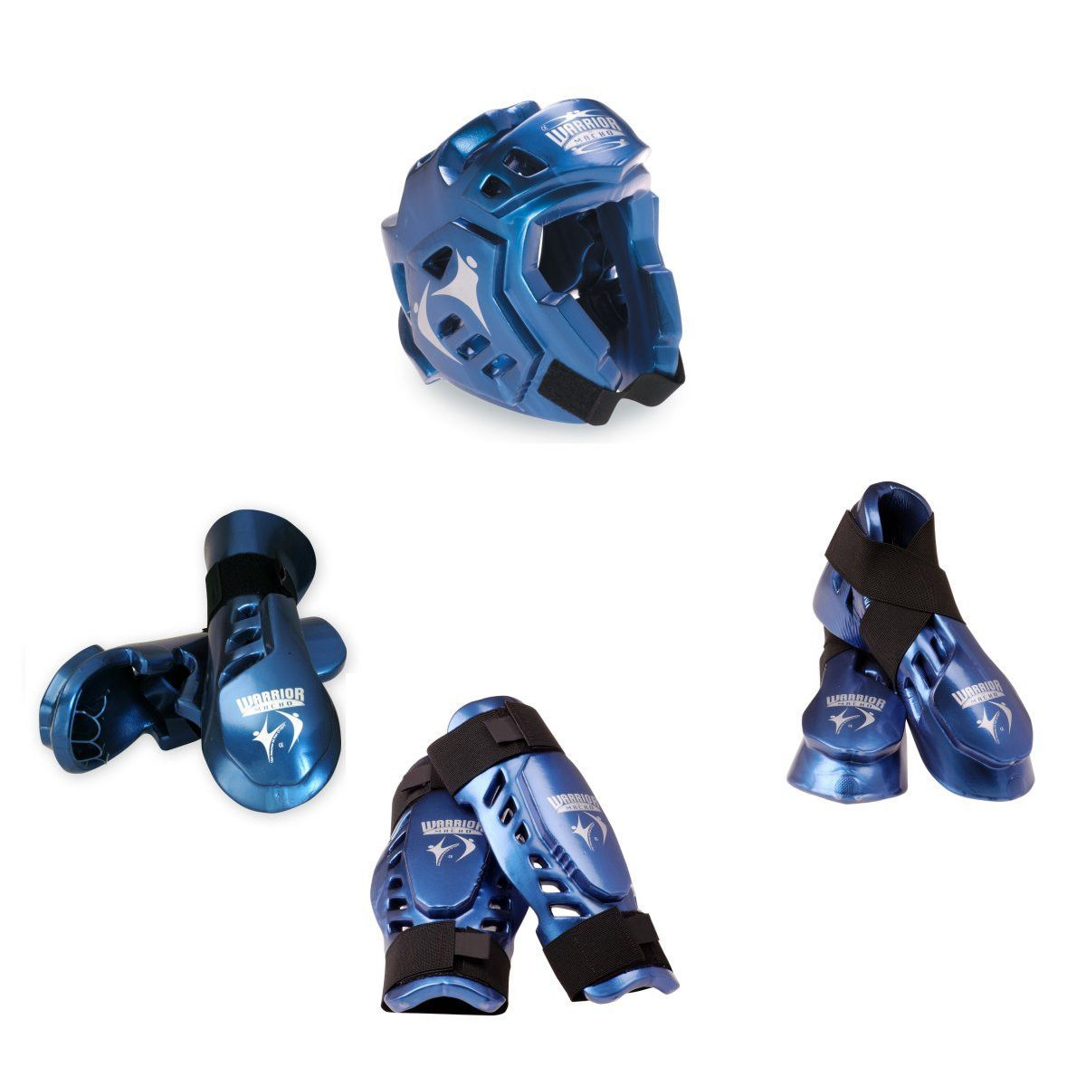 Macho Warrior 7 piece sparring gear set with Shin | Products