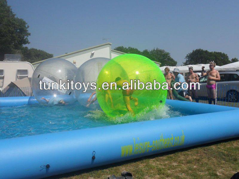 Inflatable rectangular pool above ground swimming pool inflatable adult swimming pool for Above ground inflatable swimming pools
