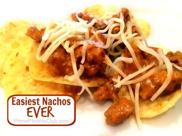 Easiest Nachos Ever #food #recipes #dinner