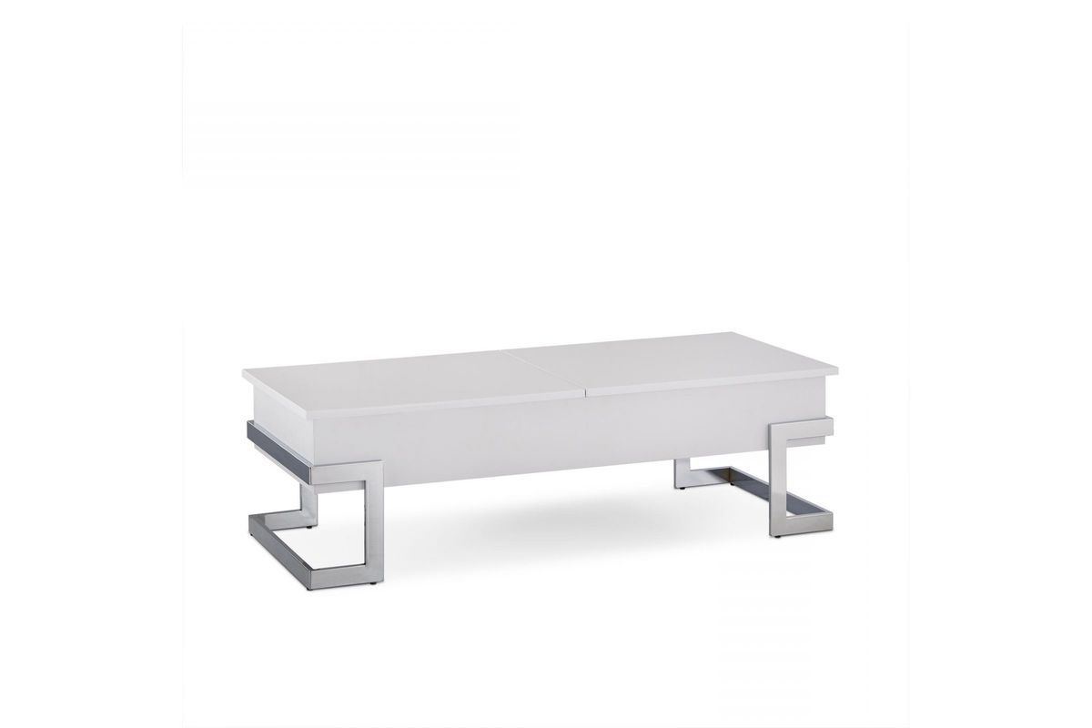 Calnan Lift Top Coffee Table In White By Acme At Gardner White Coffee Table Lift Top Coffee Table Table [ 800 x 1200 Pixel ]