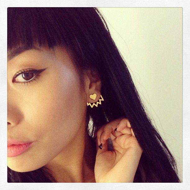 Lovemade x Miss Wax 3 piece earring set