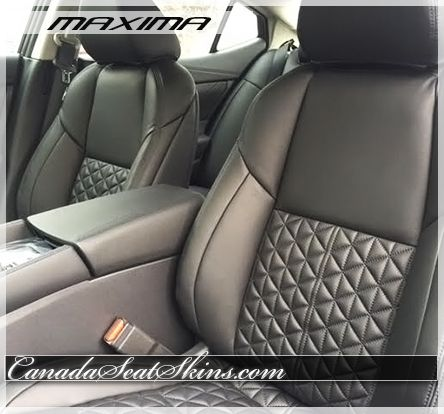 2016 Nissan Maxima Leather Interior - Modern Quilted ... : quilted leather seats - Adamdwight.com