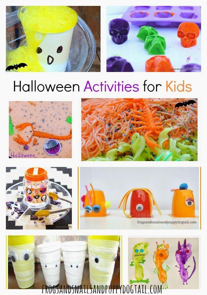 Halloween Activities for Kids Activities and Halloween themes - halloween activities ideas