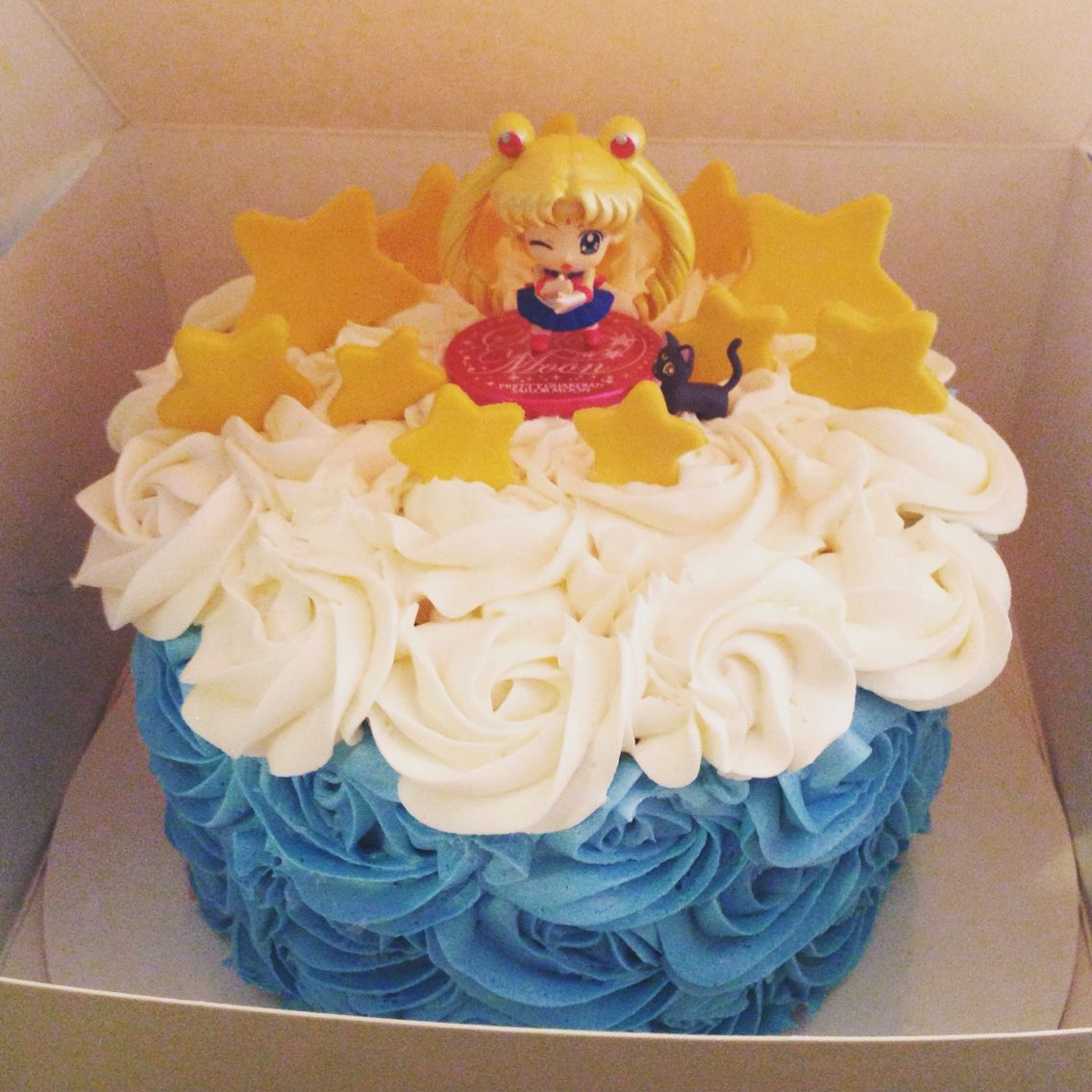 Superb Sailor Moon Cake For The Birthday Girl With Images Sailor Moon Personalised Birthday Cards Beptaeletsinfo