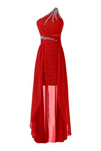 Sunvary Gorgeous High Low Chiffon Homecoming Evening Dresses Bridesmaid Dresses for Prom Formal Party Dress US Size 14- Red Sunvary http://www.amazon.com/dp/B00M7PDBI4/ref=cm_sw_r_pi_dp_GXuYub0T257PG
