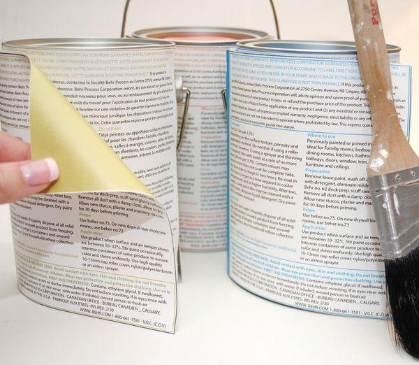 Behr Paint Branding by Alexandra Egan, via Behance
