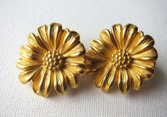 Vintage Givenchy clip on earrings