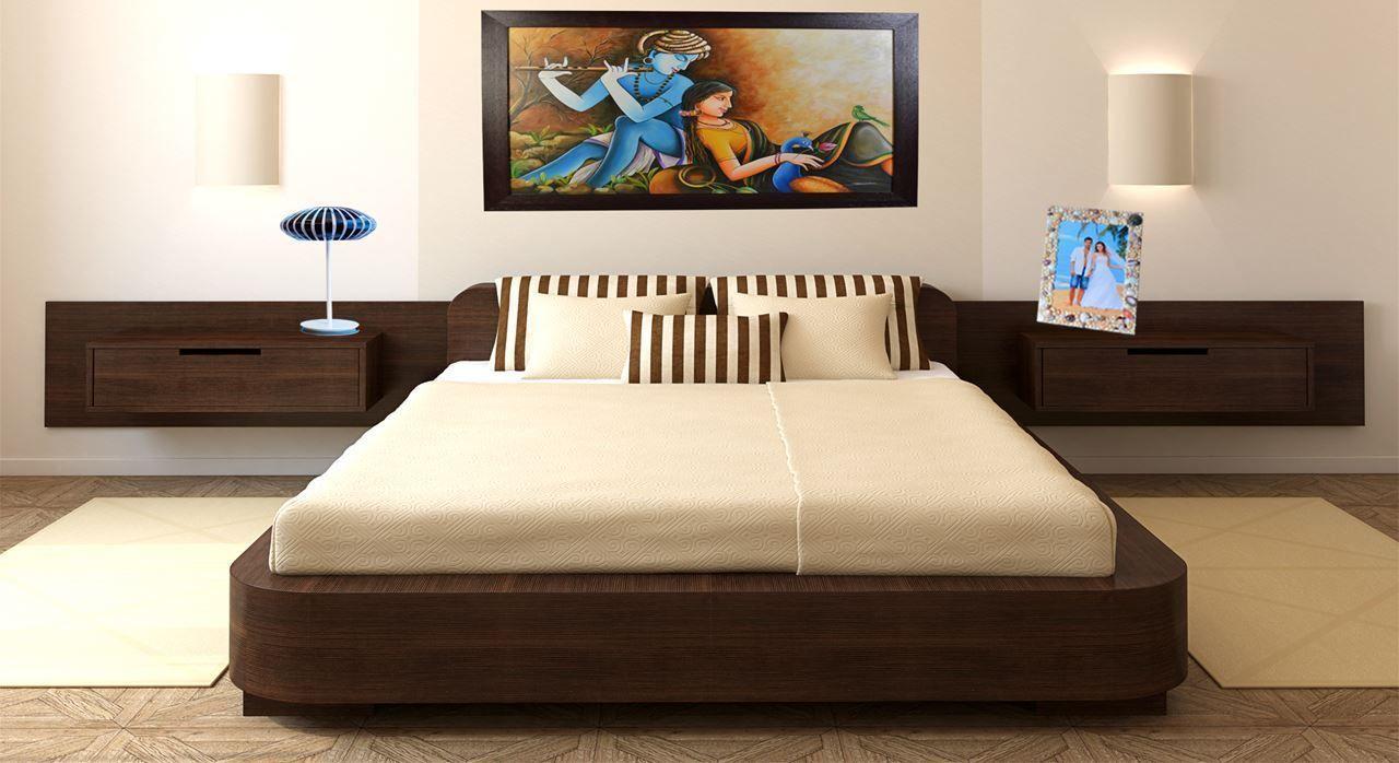 Siena Double Bed - Storage