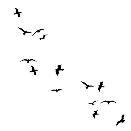 Birds Silhouette Flying Bird Tattoo Bird Silhouette Tattoos Birds Flying Away