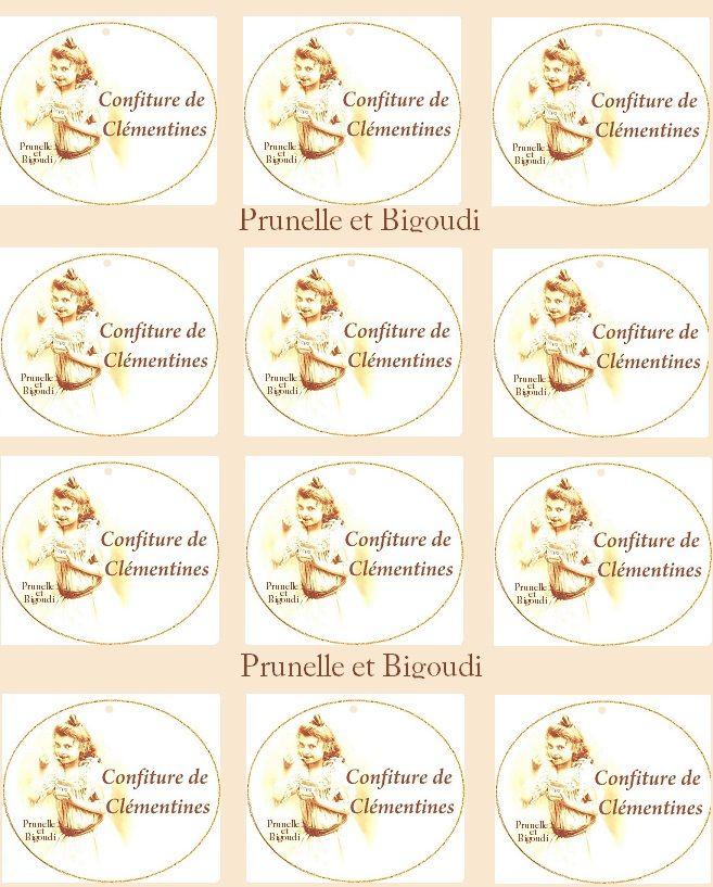 etiquettes confitures à imprimer  http://prunelle-et-bigoudi.fr