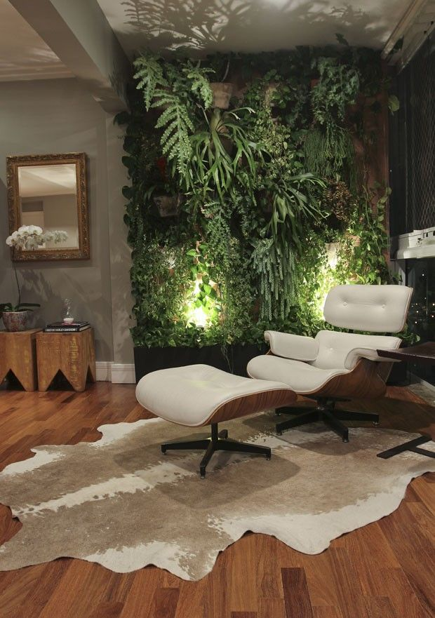 Poltrona Clássica+tapete · Home DesigningVertical GardensGreen WallsLiving  ... Part 54