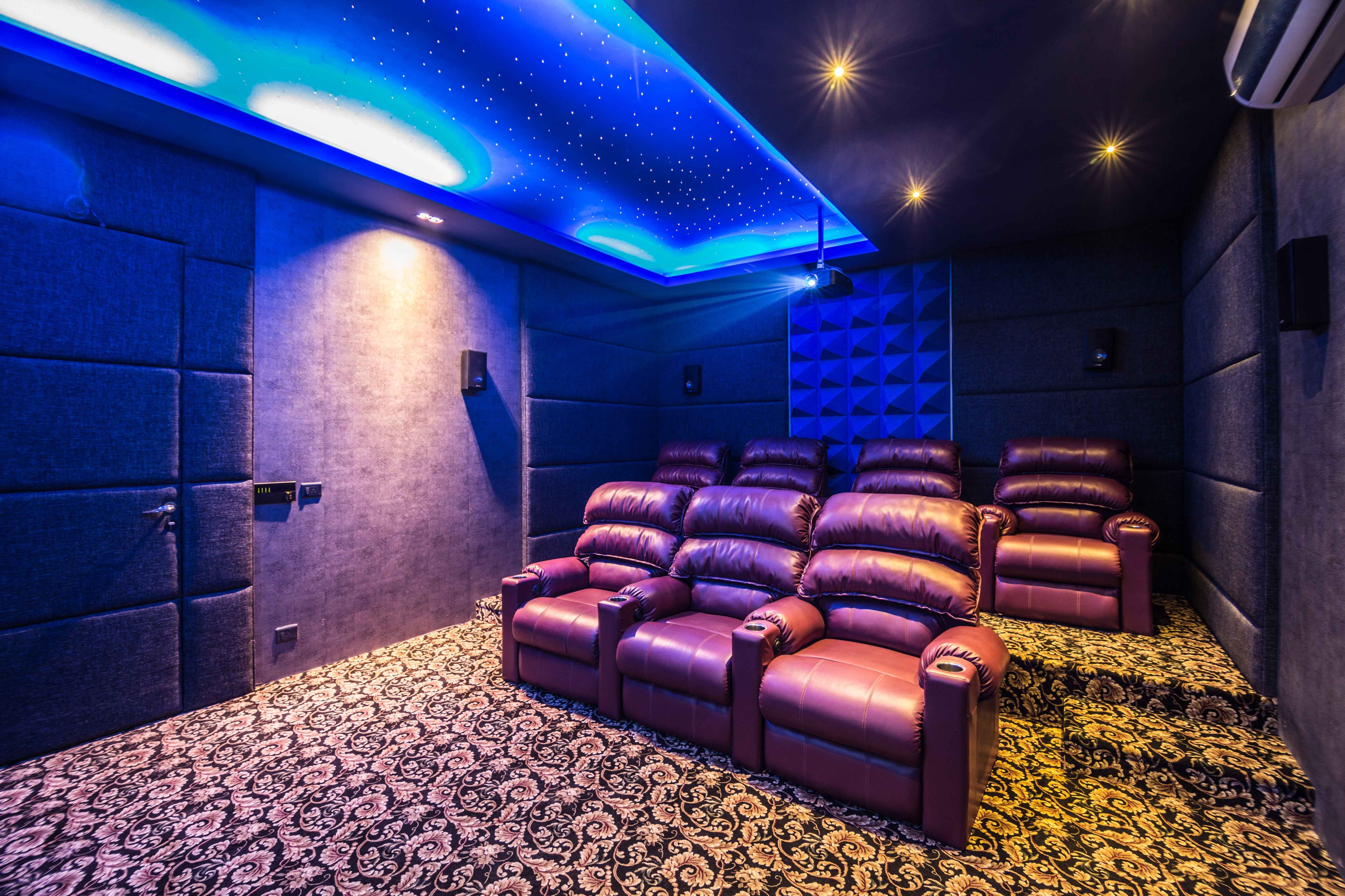 All About Forms Homes Home Theatre Interior Decoration Ideas Theatre Interior Interior Decorating Interior Design Photos