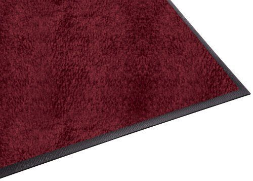 Burgundy 3x20 Guardian Platinum Series Indoor Wiper Floor Mat Rubber with Nylon Carpet