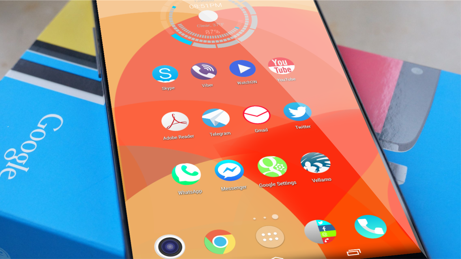 Solstice HD Theme Icon Pack v1.2 APK Please visit our