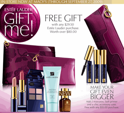 estee gift with purchase 2011 | It's gift time! Free gift at Estee ...