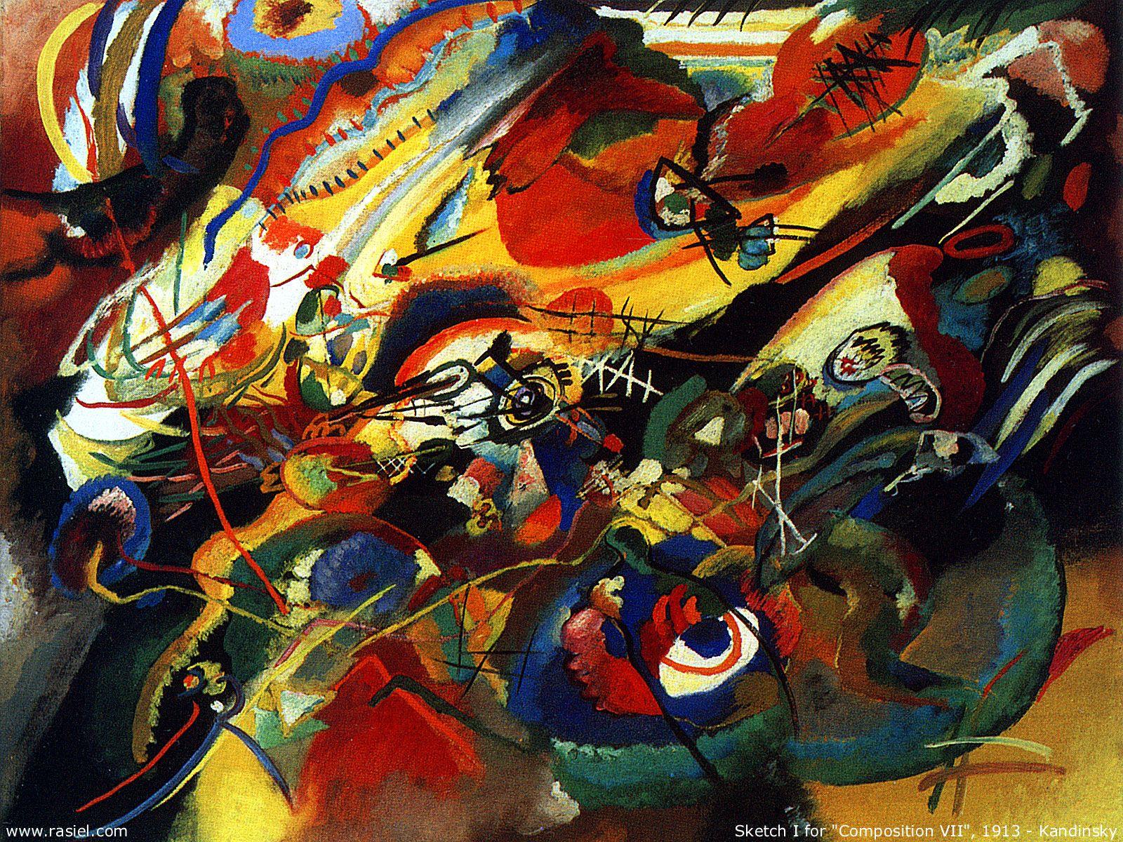 The Athenaeum Sketch For Compo 7 Wassily Kandinsky