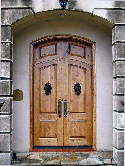 DbyD-2009. This Segment Top Country French Exterior Wood Entry was ...