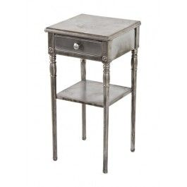 vintage industrial simmons metal side table. Urban Remains Chicago :: Highly Sought After C. American Industrial Diminutive Simmons \ Vintage Metal Side Table Pinterest