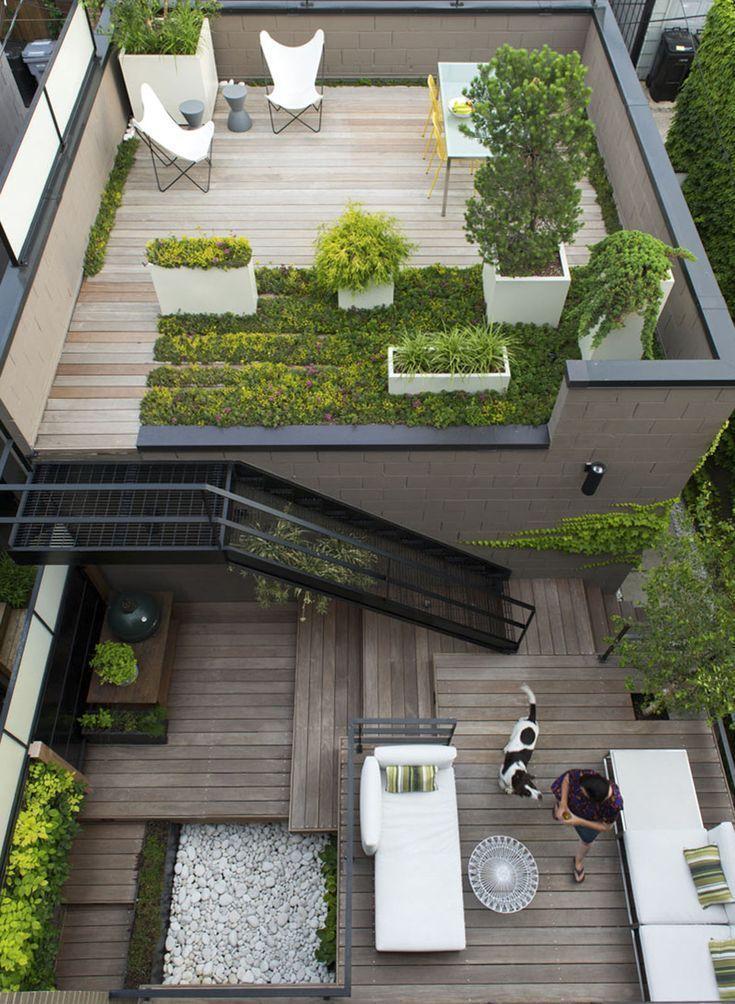 Photo of 33 bellissime idee da giardino sul tetto per abbellire la tua casa urbana, # sul # tetto # …