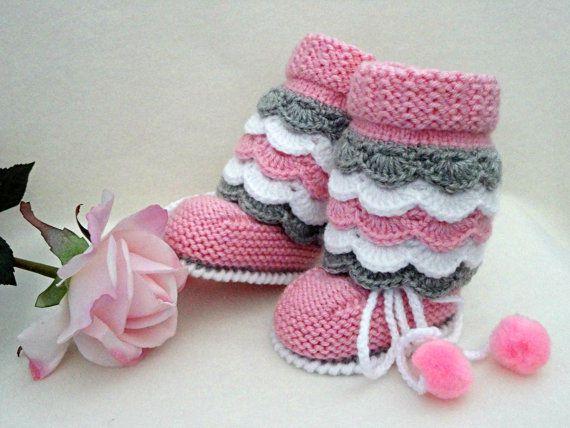 Photo of Neugeborene Babyschuhe