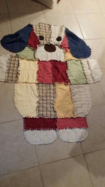 Dog Rag Quilt Quilting Rag Quilt Quilts Rag Quilt Patterns