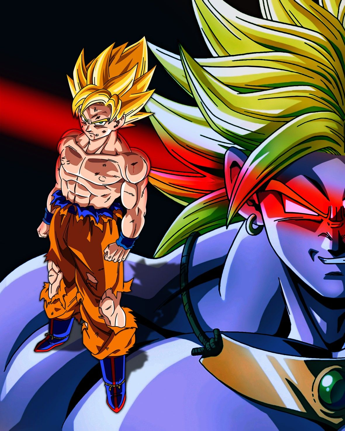 Poster Dragon Ball Z The Legendary Super Saiyan By Dony910 Dragon Ball Dragon Ball Z Dragon