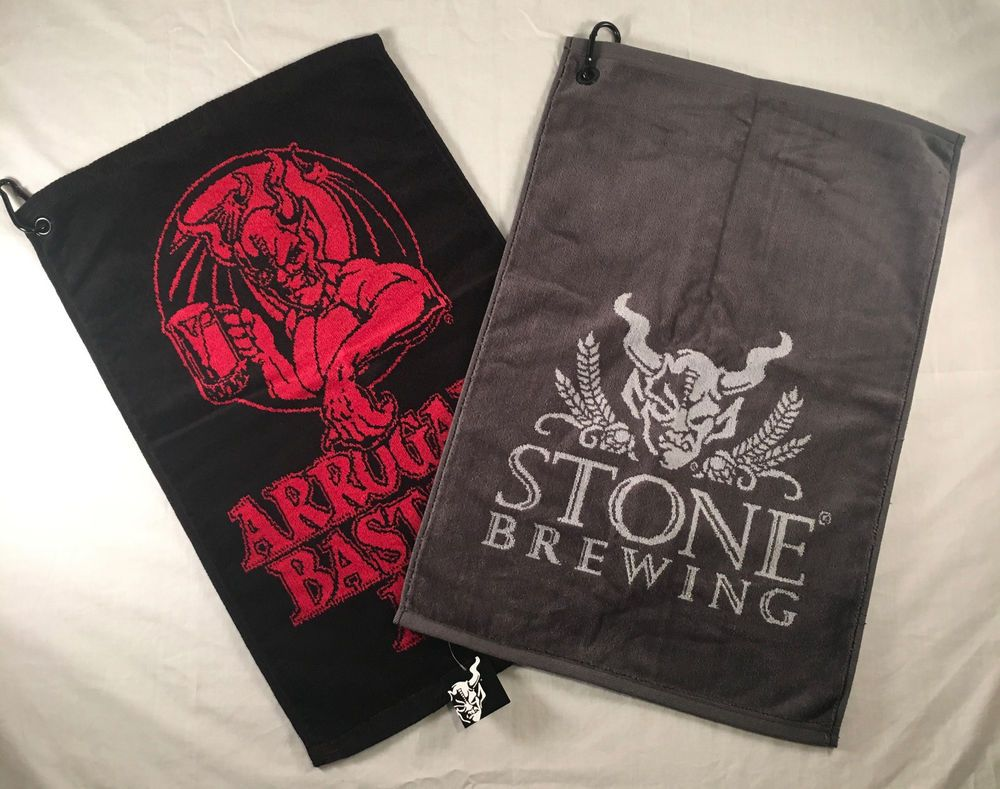 Stone Brewing Co Arrogant Bastard Golf Towel Sports Equipment Craft Beer  Brew  StoneBrewingCompany b1f83a2e9