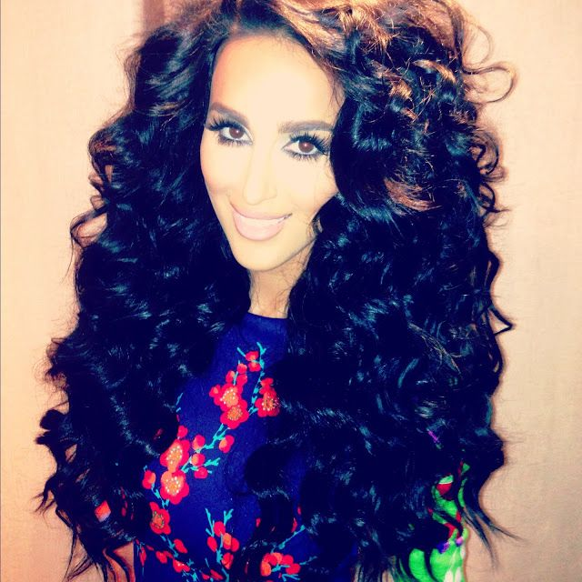 Lilly Ghalichi Shahs Of Sunset Big Hair Persian Fashion Glamor
