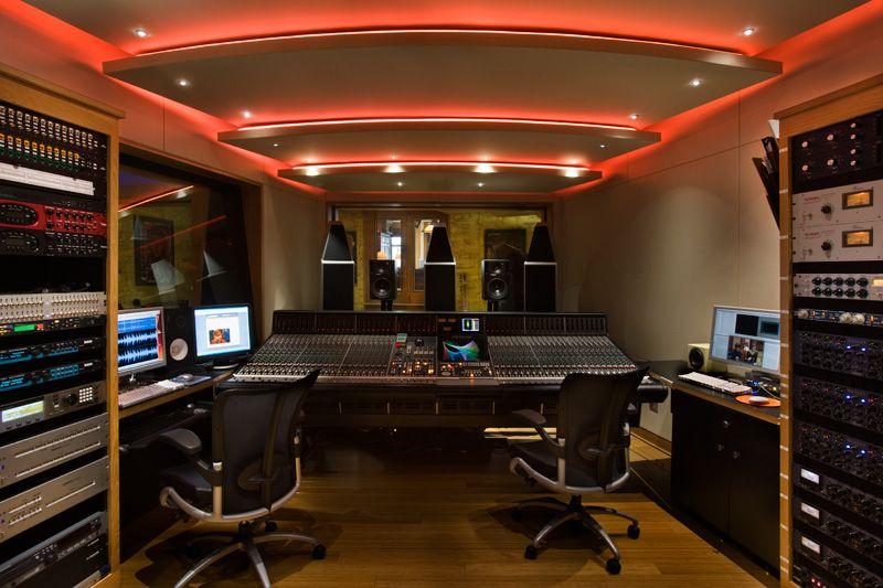 Dreaming Music Studio Room Studio Interior Recording Studio Home