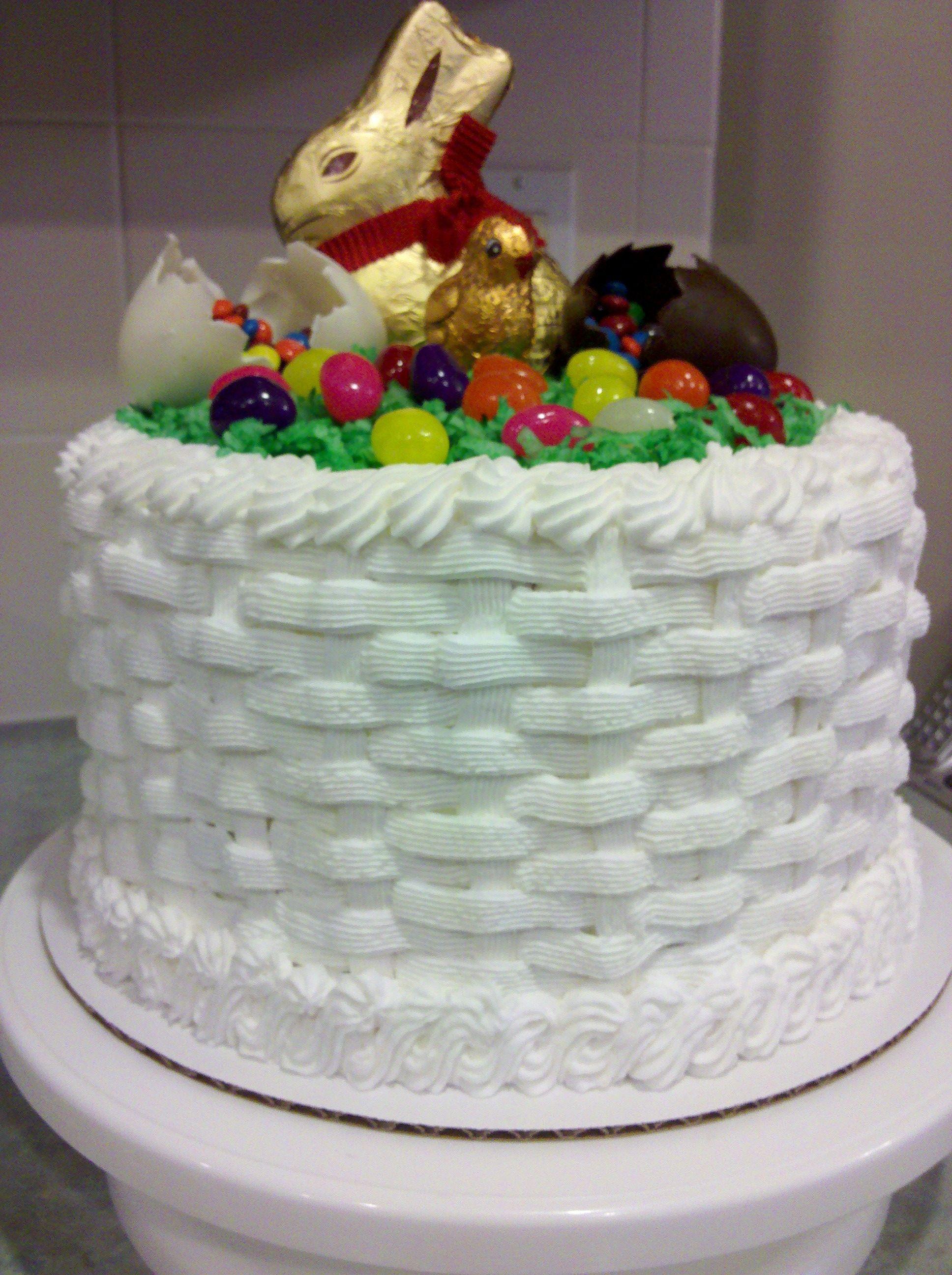 Easter basket cake easter basket cake easter cakes cake
