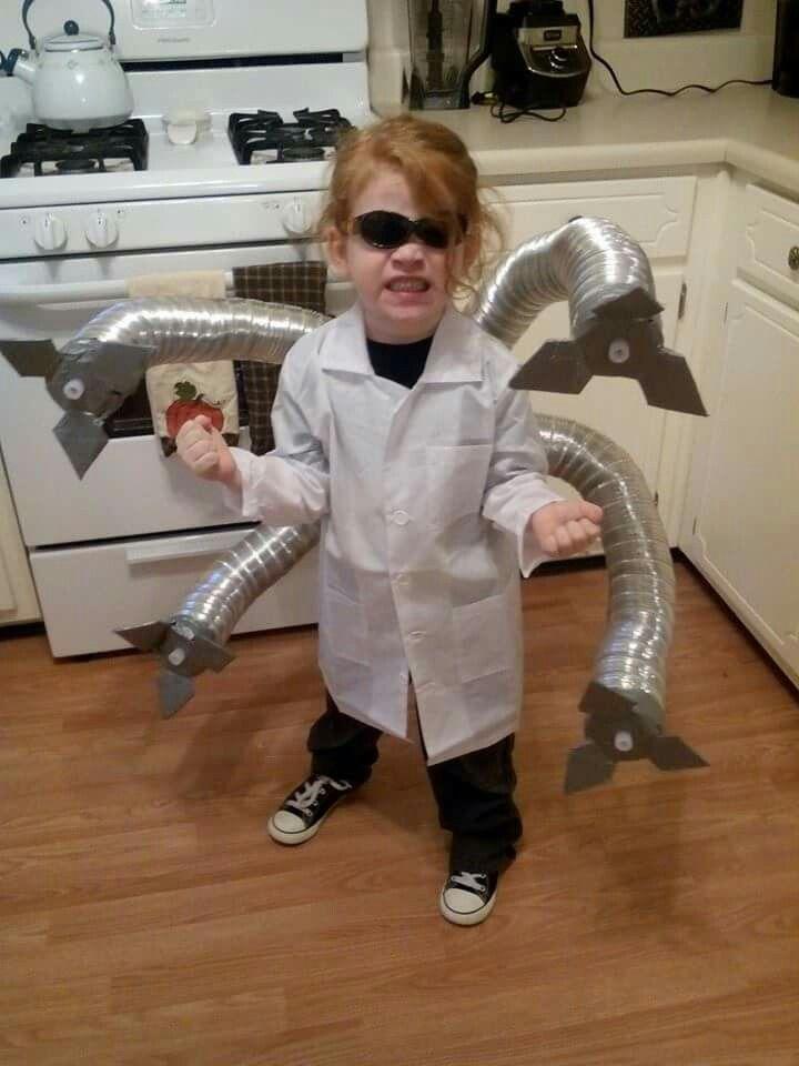 Homemade Doc Ock Costume Halloween Cosplay Diy Halloweenie