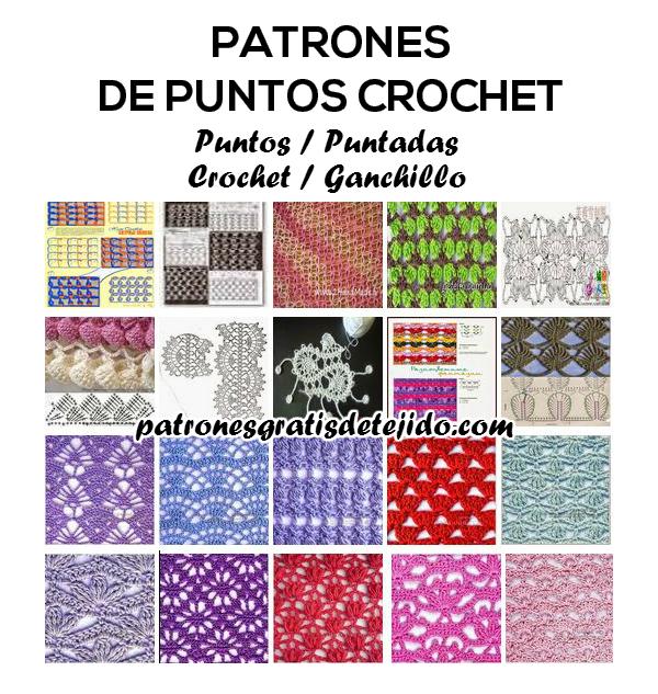 Dónde encontrar patrones de puntos crochet gratis para descargar ...