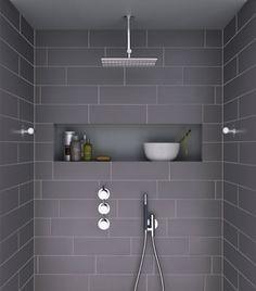Duschen Perfekt bygg en hyllnisch i duschen | bathrooms | pinterest | bathroom, bath