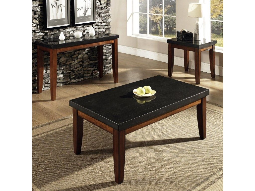 Rectangular Granite Top Cocktail Table Granite Bello By Steve Silver Wilcox Furniture Cocktail Coffee Table 3 Piece Coffee Table Set Granite Coffee Table [ 768 x 1024 Pixel ]