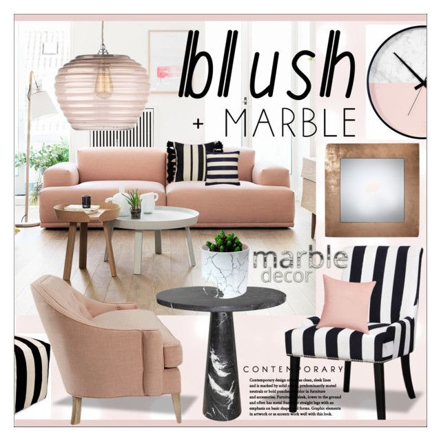 Blush Marble Living Room By Calamity Jane Always Liked