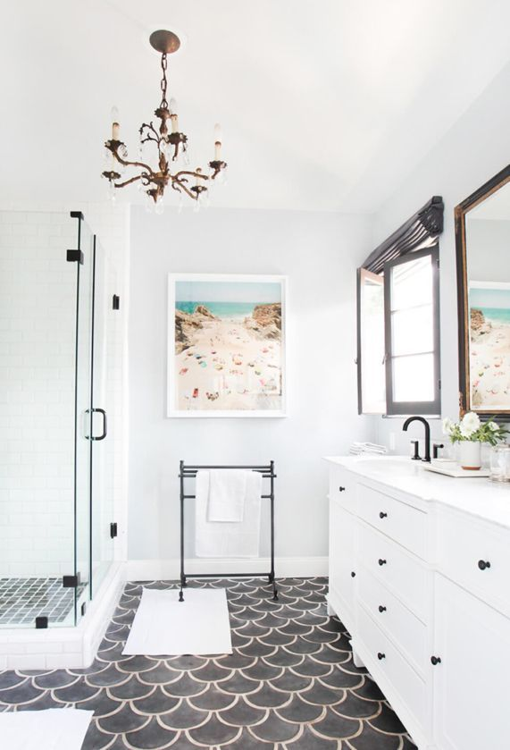 The secrets to being a homeowner: cauking your bathroom to prevent leaks and pests from getting in is very important. For more homeowner tips visit Laurel & Wolf.