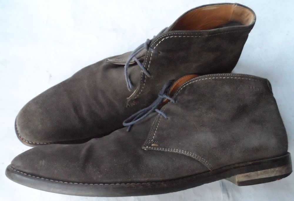 low priced 6004c 9fe03 LLOYD GERMANY GENTLEMEN'S GREY SUEDE CHUKKA BOOTS SIZE 10.5 ...
