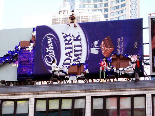 Cadbury Billboard Ad VisCom Pinterest - 17 incredibly creative billboard ads