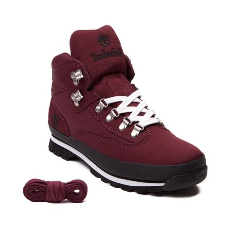 Mens Timberland Euro Rip Boot (Mens Burgundy) >>> Read more at the image  link.