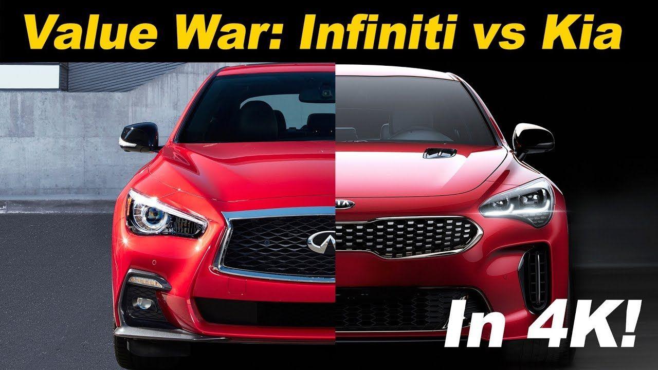 2018 Kia Stinger GT vs 2018 Infiniti Q50 3.0t Sport Head