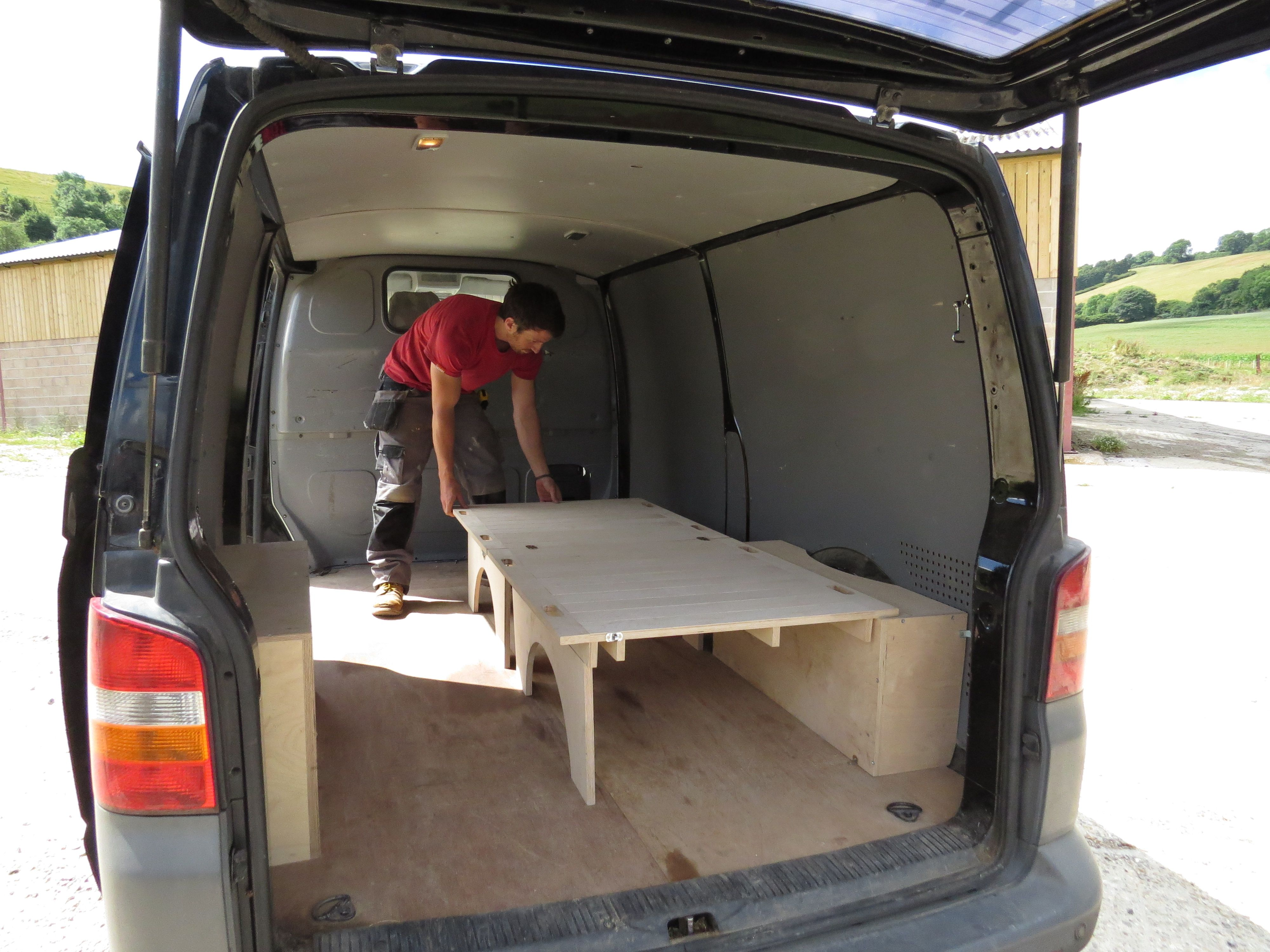 folding van chair heavy duty lawn fold away bed unit single ready stowaway
