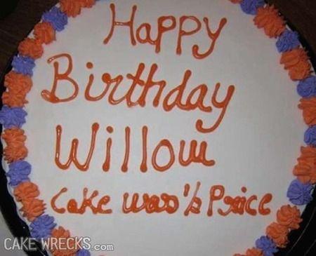 Cake Wrecks Home You Had One Job Wal Mart Cakes Cake