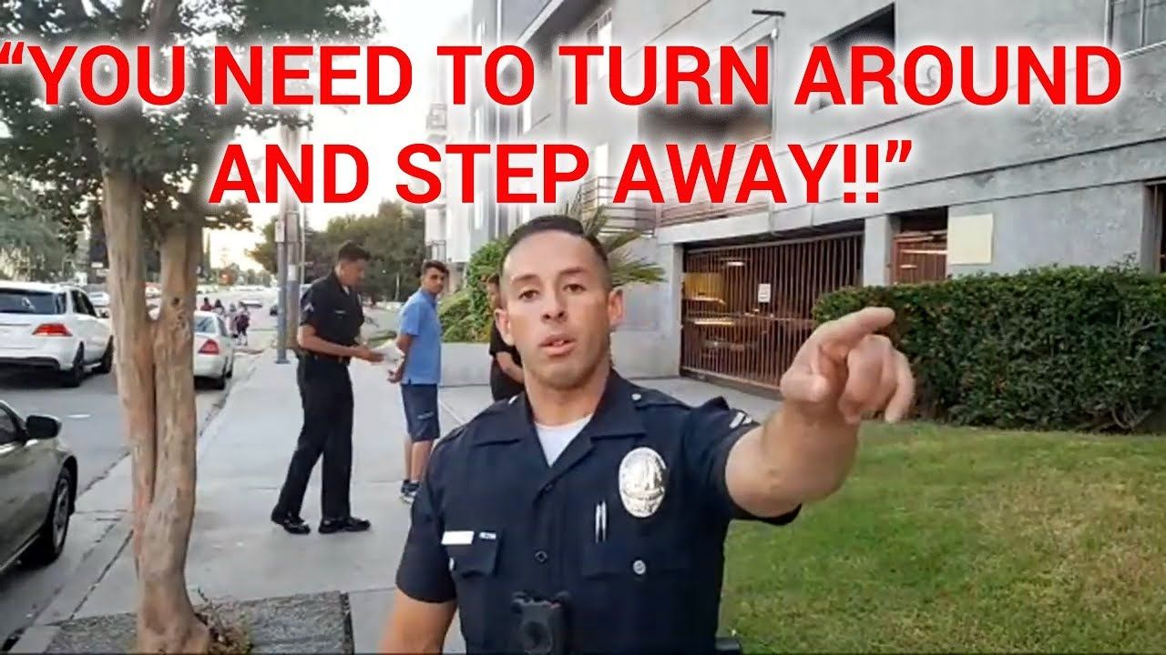Must see copwatch 72019 lapd officer lopez likes