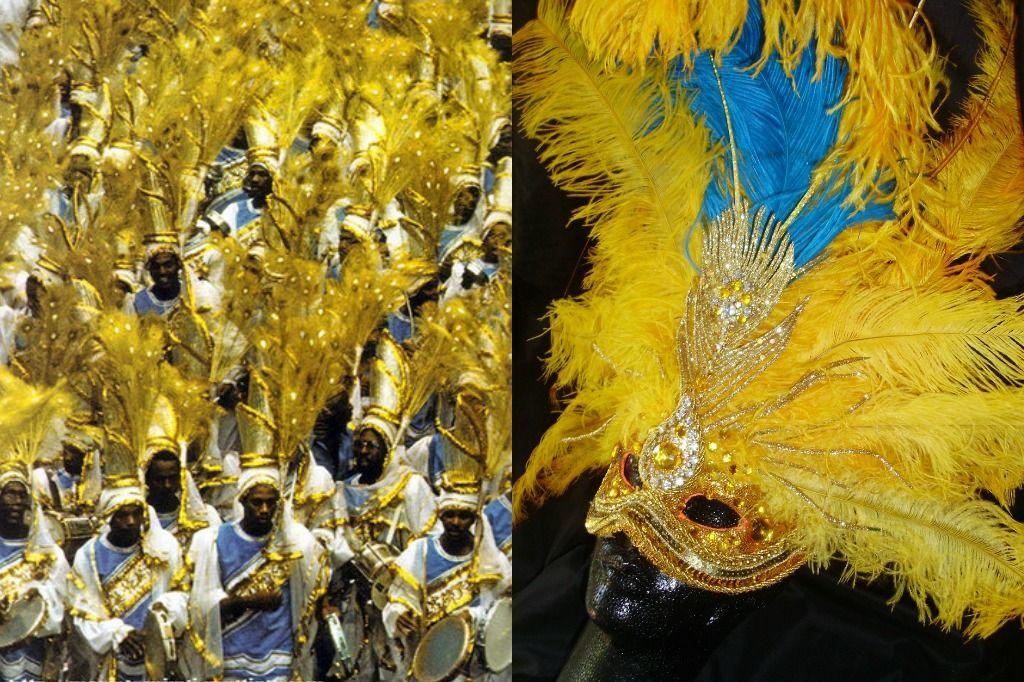 COLEÇÃO DE MÁSCARAS E ADEREÇOS 2012- BY FÁBIO SANDE , EM HOMENAGEM AOS CARNAVAIS DO CARNAVALESCO JOÃOZINHO TRINTA.. NA FOTO A BEIJA FLOR 1979
