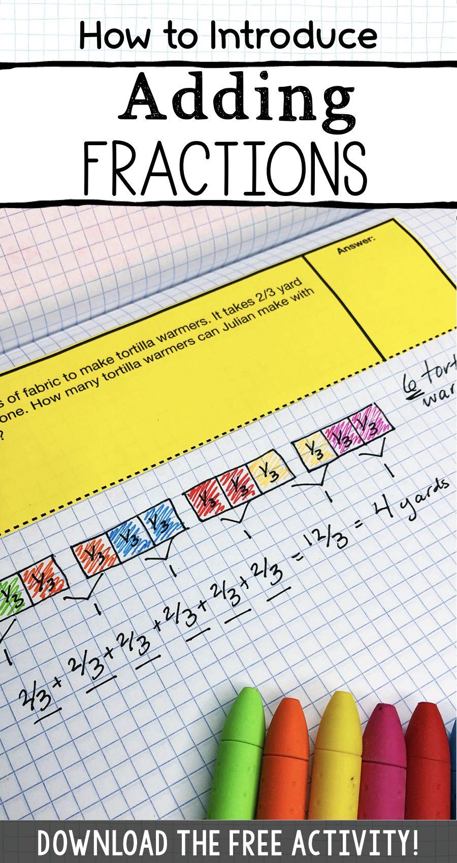 Pin On Homeschool Adding fraction math games
