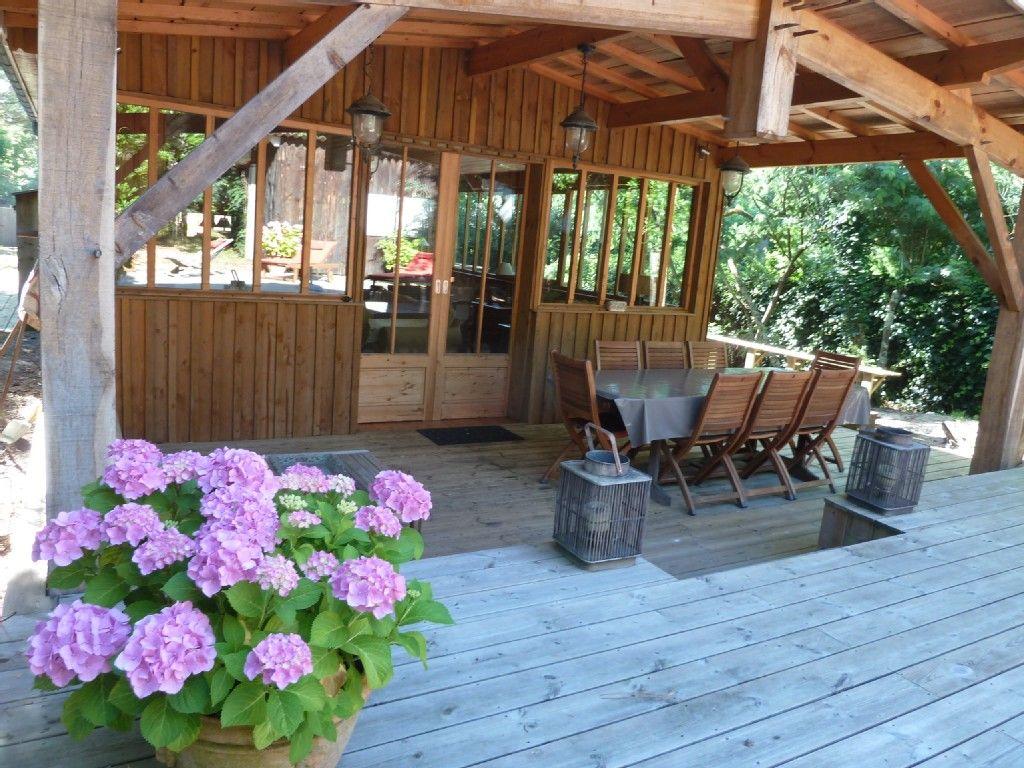 Terrasse devant terrasse et jardin pinterest maison maison bois et cabane - Cabane jardin terrasse lille ...